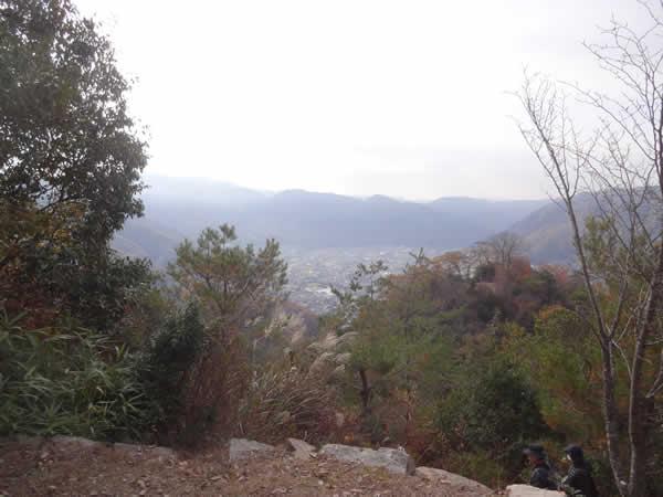 備中松山城への登山道