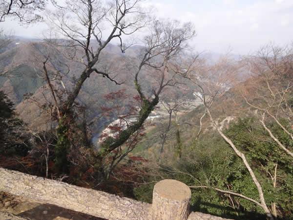 備中松山城から見る景色