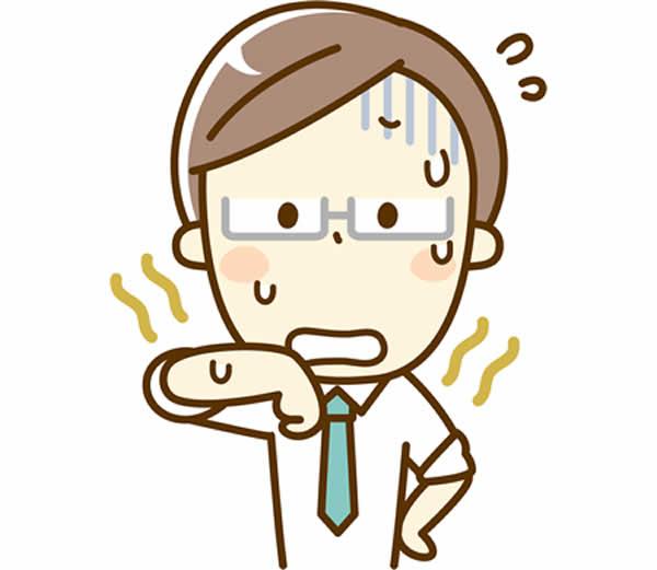 アンモニア臭を例えるとどんなにおい?汗からにおう原因は?