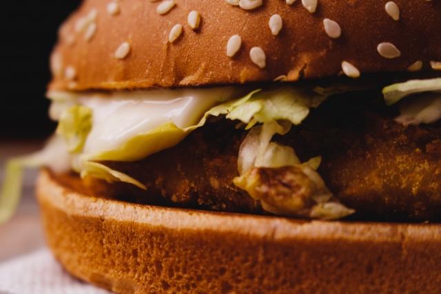 100円ハンバーガー